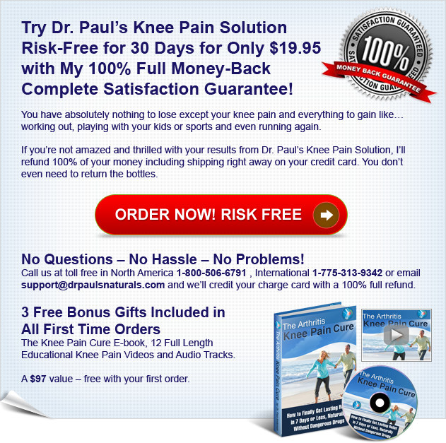 Order Dr. Paul's Knee Pain Treatment